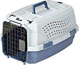 AmazonBasics Two-Door Top-Load Hard-Sided Pet Travel Carrier, 19-Inch